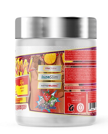 Glaxon Thermal Non-Stim Thermogenic  Kiwi Cooler - 21 Servings