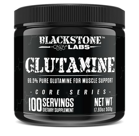 Blackstone Labs Glutamine - 500 Grams