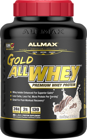 AllMax Nutrition AllWhey Gold Cookies & Cream - 5 Lb
