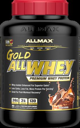 AllMax Nutrition AllWhey Gold Chocolate - 5 Lb