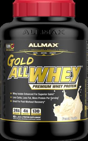 AllMax Nutrition AllWhey Gold Vanilla - 5 Lb