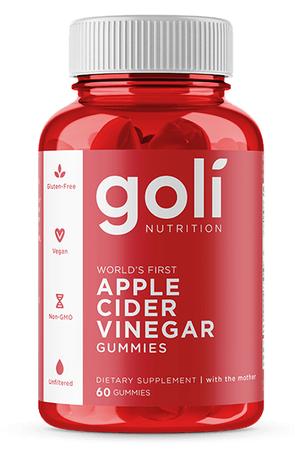 Goli Nutrition Apple Cider Vinegar Gummies - 60 Pieces