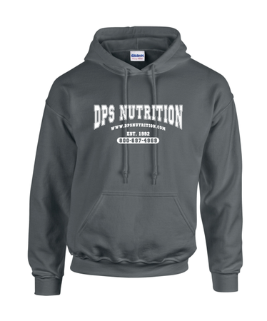 Dps Nutrition Heavy Blend Hoodie  Charcoal - Large