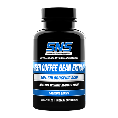 Serious Nutrition Solutions Green Coffee Bean Extract - 90 Cap