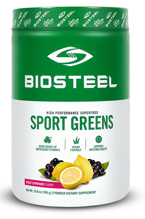 BioSteel Sports Greens Superfood Pomegranite Berry - 30 Servings