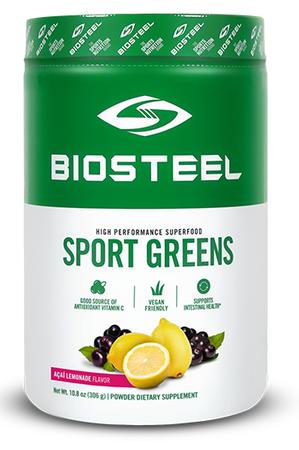 BioSteel Sports Greens Superfood Acai Lemonade - 30 Servings