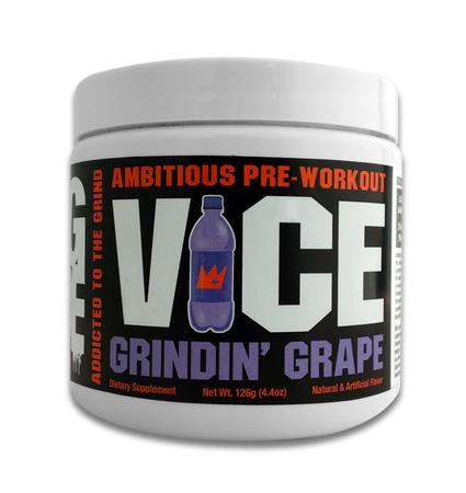 GCode Nutrition VICE Preworkout Grindin Grape - 30 Servings