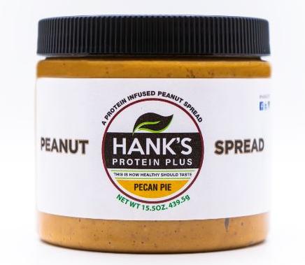 Hank's Protein Plus Peanut Spread  Pecan Pie - 15.5 oz