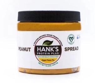 Hank's Protein Plus Peanut Spread  Vegan Pecan Pie - 15.5 oz
