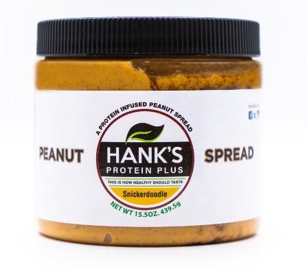 Hank's Protein Plus Peanut Spread  Snickerdoodle - 15.5 oz