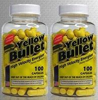 HardRock Yellow Bullet TWINPACK - 2 x 100 Cap Bottles
