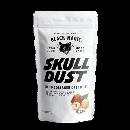 Black Magic Supply Skull Dust Keto Collagen Creamer Hazelnut - 20 Servings