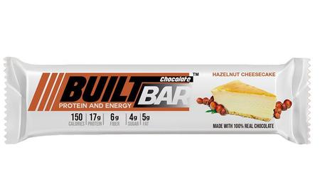 Built Bar Hazelnut Cheesecake - 18 Bars