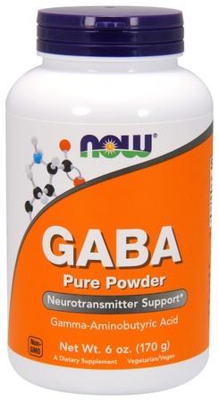 Now Foods Gaba Powder - 6 Oz