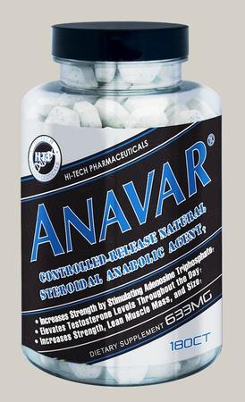 Hi Tech Pharmaceuticals Anavar - 180 Tab