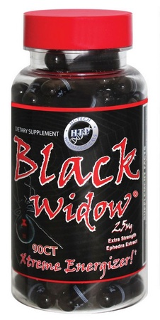 Hi Tech Pharmaceuticals Black Widow - 90 Cap