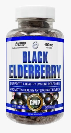 Hi Tech Pharmaceuticals Black Elderberry - 120 Tablets