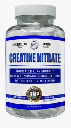 Hi Tech Pharmaceuticals Creatine Nitrate - 120 Tablets