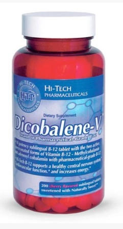 Hi Tech Pharmaceuticals Dicobalene-V - 200 Sublingual Tablets