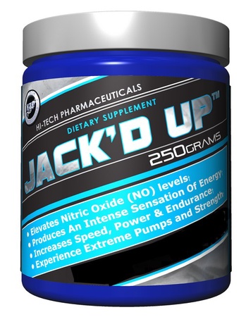 Hi Tech Pharmaceuticals Jacked Up Pineapple - 45 Servings
