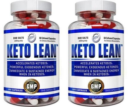 Hi Tech Pharmaceuticals Keto Lean TWINPACK - 2 x 120 Cap