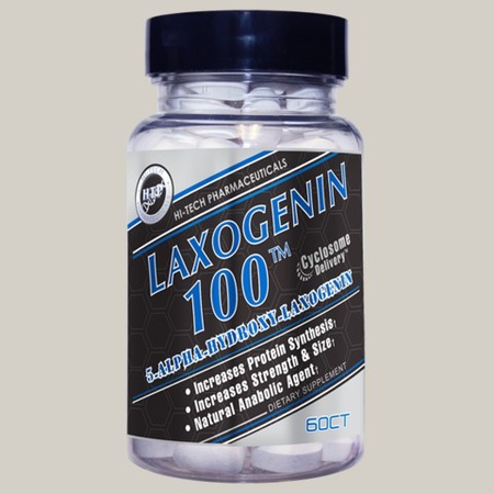 Hi Tech Pharmaceuticals Laxogenin 100 - 60 Tablets