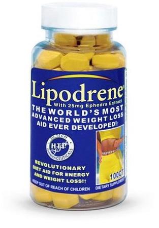 Hi Tech Pharmaceuticals Lipodrene - 100 Tab
