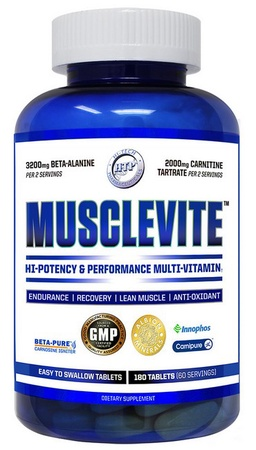 Hi Tech Pharmaceuticals MuscleVite - 180 Tablets