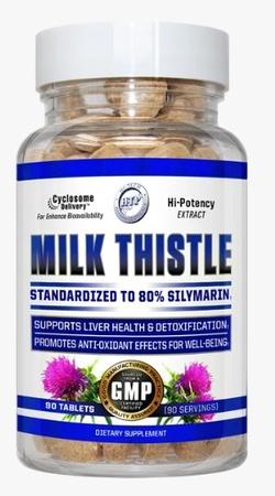 Hi Tech Pharmaceuticals Milk Thistle - 90 Tab