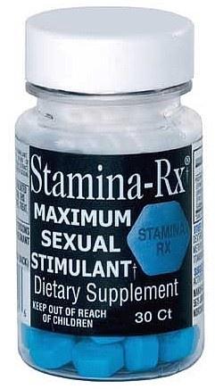 Hi Tech Pharmaceuticals Stamina Rx - 30 Tab