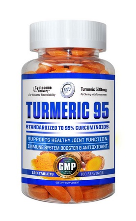 Hi Tech Pharmaceuticals Turmeric-95 - 120 Tablets