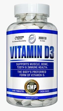 Hi Tech Pharmaceuticals Vitamin D 2000 iu - 100 Tab
