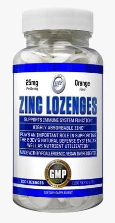 Hi Tech Pharmaceuticals Zinc Lozenges 25 Mg  Orange - 100 Lozenges