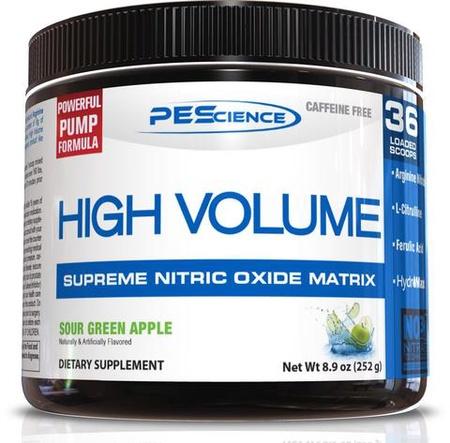 PES High Volume Sour Green Apple - 18 Servings