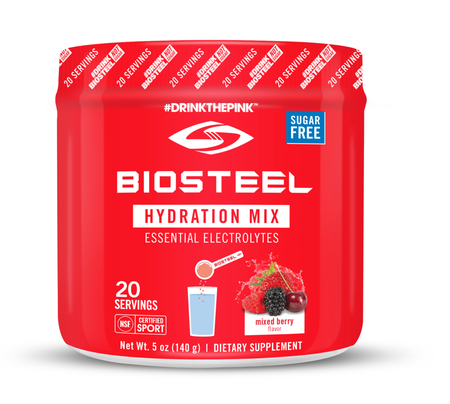 BioSteel Sport Hydration Mix  Mixed Berry - 20 Servings