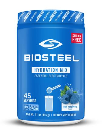BioSteel Sport Hydration Mix  Blue Raspberry - 45 Servings