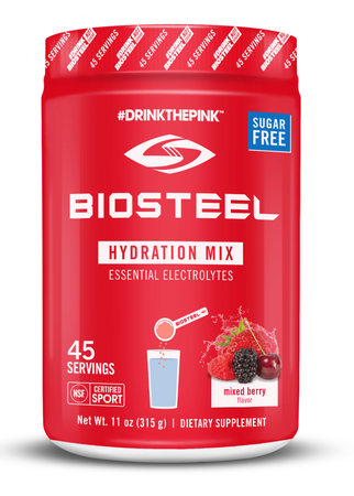 BioSteel Sport Hydration Mix  Mixed Berry - 45 Servings
