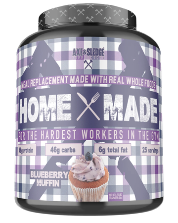 Axe & Sledge Home Made Whole Foods Meal Replacement  Blueberry - 25 Servings