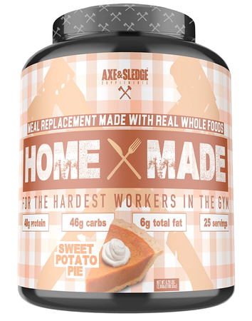 Axe & Sledge Home Made Whole Foods Meal Replacement Sweet Potato Pie - 25 Servings