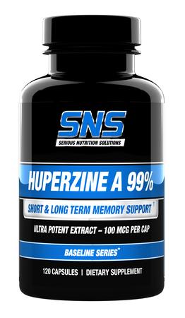 SNS Serious Nutrition Solutions Huperzine A 99% - 120 Cap