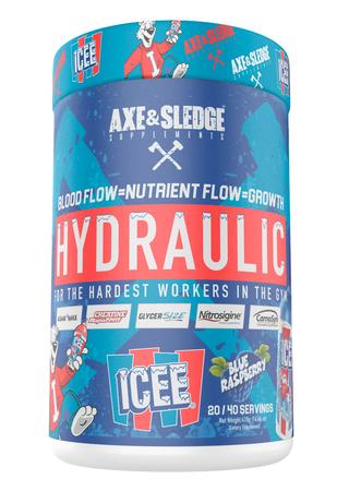 Axe & Sledge Hydraulic  ICEE Blue Raspberry - 40 Servings