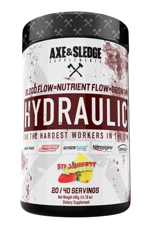 Axe & Sledge Hydraulic  Strawberry Lemonade - 40 Servings