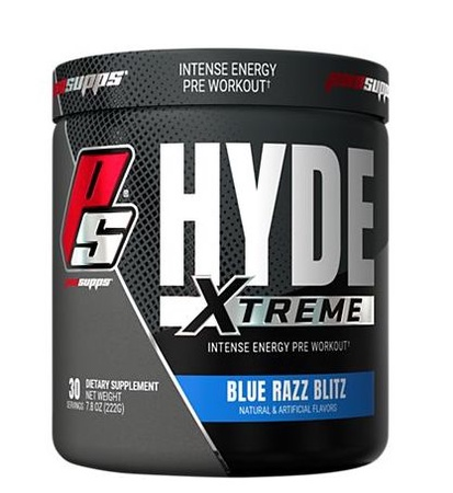 Pro Supps Hyde Xtreme Blue Razz Blitz - 30 Servings