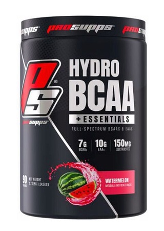 Pro Supps HydroBCAA+ Essentials Watermelon - 90 Servings