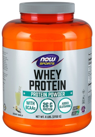 Now Foods Whey Protein  Vanilla - 6 Lb