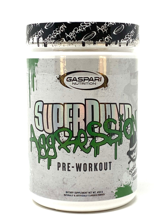 Gaspari Nutrition SuperPump Aggression  Italian Ice - 25 Servings