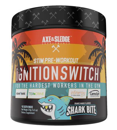 Axe & Sledge Ignition Switch  Shark Bite - 40 Servings