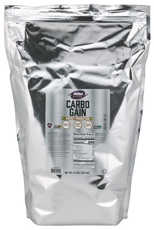 Now Foods Carbo Gain Maltodextrin - Complex Carbohydrate Powder - 12 Lb