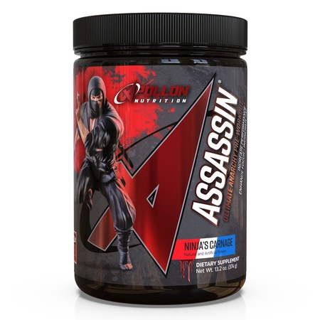 Apollon Nutrition Assassin V7  Ninja's Carnage - 20-40 Servings  ($58.45 w/coupon code DPS10)