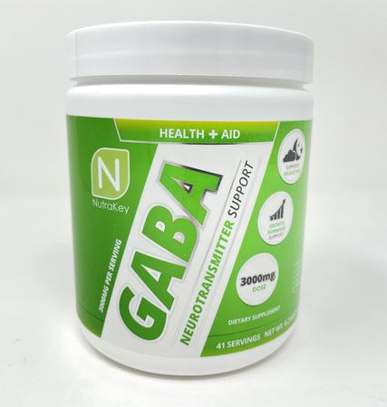 Nutrakey GABA Powder - 41 Servings